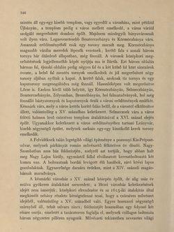 Bild der Seite - 146 - in Az Osztrák-Magyar Monarchia írásban és képben - Magyarország V (1), Band 18