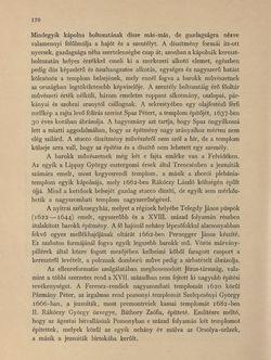 Image of the Page - 170 - in Az Osztrák-Magyar Monarchia írásban és képben - Magyarország V (1), Volume 18