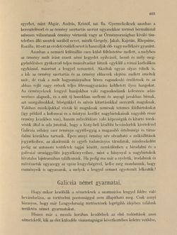 Bild der Seite - 463 - in Az Osztrák-Magyar Monarchia írásban és képben - Galiczia (2), Band 19/2