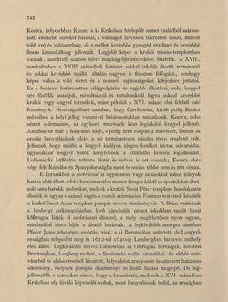 Image of the Page - 742 - in Az Osztrák-Magyar Monarchia írásban és képben - Galiczia (2), Volume 19/2
