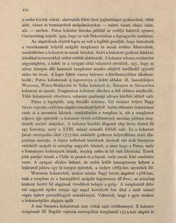 Bild der Seite - 416 - in Az Osztrák-Magyar Monarchia írásban és képben - Bukovina, Band 20