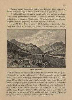 Image of the Page - 447 - in Az Osztrák-Magyar Monarchia írásban és képben - Magyarország V (II), Volume 21