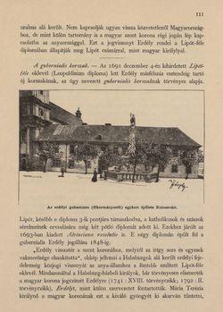 Bild der Seite - 111 - in Az Osztrák-Magyar Monarchia írásban és képben - Magyarország VI, Band 23/1