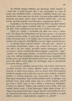 Bild der Seite - 181 - in Az Osztrák-Magyar Monarchia írásban és képben - Magyarország VI, Band 23/1
