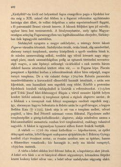 Bild der Seite - 402 - in Az Osztrák-Magyar Monarchia írásban és képben - Magyarország VI, Band 23/2