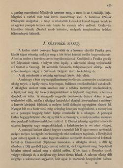 Bild der Seite - 465 - in Az Osztrák-Magyar Monarchia írásban és képben - Horvát-Szlavonország (2), Band 24/2