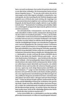 Bild der Seite - 87 - in Kreuzenstein - Die mittelalterliche Burg als Konstruktion der Moderne