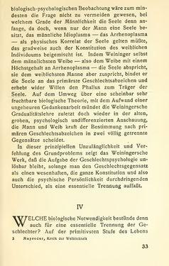 Bild der Seite - 33 - in Zur Kritik der Weiblichkeit