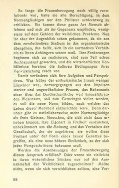 Bild der Seite - 98 - in Zur Kritik der Weiblichkeit