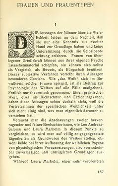 Image of the Page - 157 - in Zur Kritik der Weiblichkeit