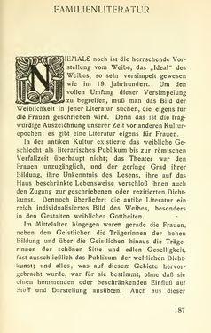 Image of the Page - 187 - in Zur Kritik der Weiblichkeit