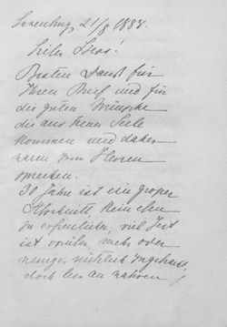 Bild der Seite - XVII - in Kronprinz Rudolf - Politische Briefe an einen Freund 1882-1889