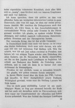 Bild der Seite - 19 - in Kronprinz Rudolf - Politische Briefe an einen Freund 1882-1889