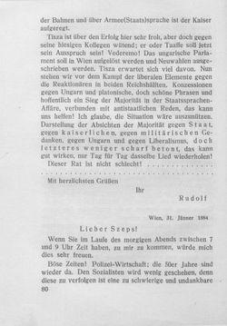 Bild der Seite - 80 - in Kronprinz Rudolf - Politische Briefe an einen Freund 1882-1889
