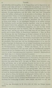 Image of the Page - X - in Lateinisch-Deutsches und Deutsch-Lateinisches Schul-Wörterbuch - Lateinisch-Deutscher Theil