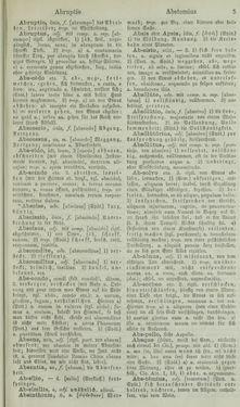 Image of the Page - 5 - in Lateinisch-Deutsches und Deutsch-Lateinisches Schul-Wörterbuch - Lateinisch-Deutscher Theil