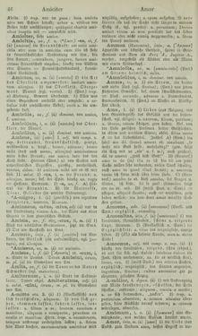 Bild der Seite - 46 - in Lateinisch-Deutsches und Deutsch-Lateinisches Schul-Wörterbuch - Lateinisch-Deutscher Theil