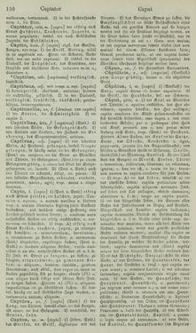 Image of the Page - 110 - in Lateinisch-Deutsches und Deutsch-Lateinisches Schul-Wörterbuch - Lateinisch-Deutscher Theil