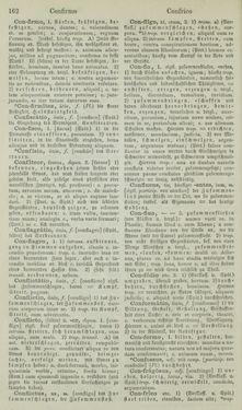 Bild der Seite - 162 - in Lateinisch-Deutsches und Deutsch-Lateinisches Schul-Wörterbuch - Lateinisch-Deutscher Theil