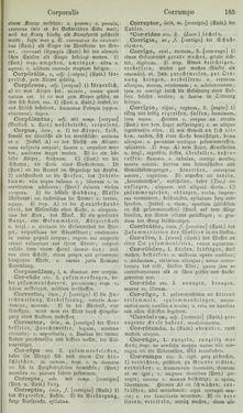 Bild der Seite - 185 - in Lateinisch-Deutsches und Deutsch-Lateinisches Schul-Wörterbuch - Lateinisch-Deutscher Theil