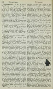 Bild der Seite - 202 - in Lateinisch-Deutsches und Deutsch-Lateinisches Schul-Wörterbuch - Lateinisch-Deutscher Theil