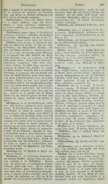 Bild der Seite - 207 - in Lateinisch-Deutsches und Deutsch-Lateinisches Schul-Wörterbuch - Lateinisch-Deutscher Theil