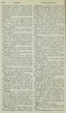 Bild der Seite - 208 - in Lateinisch-Deutsches und Deutsch-Lateinisches Schul-Wörterbuch - Lateinisch-Deutscher Theil