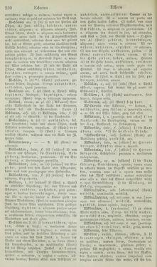 Bild der Seite - 250 - in Lateinisch-Deutsches und Deutsch-Lateinisches Schul-Wörterbuch - Lateinisch-Deutscher Theil