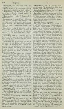 Bild der Seite - 370 - in Lateinisch-Deutsches und Deutsch-Lateinisches Schul-Wörterbuch - Lateinisch-Deutscher Theil