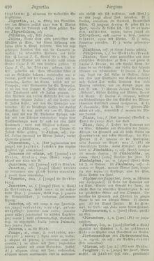 Bild der Seite - 420 - in Lateinisch-Deutsches und Deutsch-Lateinisches Schul-Wörterbuch - Lateinisch-Deutscher Theil