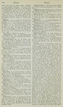 Bild der Seite - 460 - in Lateinisch-Deutsches und Deutsch-Lateinisches Schul-Wörterbuch - Lateinisch-Deutscher Theil