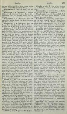 Bild der Seite - 469 - in Lateinisch-Deutsches und Deutsch-Lateinisches Schul-Wörterbuch - Lateinisch-Deutscher Theil