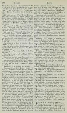 Bild der Seite - 498 - in Lateinisch-Deutsches und Deutsch-Lateinisches Schul-Wörterbuch - Lateinisch-Deutscher Theil