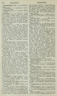 Bild der Seite - 592 - in Lateinisch-Deutsches und Deutsch-Lateinisches Schul-Wörterbuch - Lateinisch-Deutscher Theil