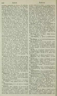Image of the Page - 640 - in Lateinisch-Deutsches und Deutsch-Lateinisches Schul-Wörterbuch - Lateinisch-Deutscher Theil