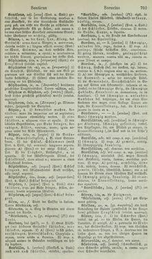 Bild der Seite - 703 - in Lateinisch-Deutsches und Deutsch-Lateinisches Schul-Wörterbuch - Lateinisch-Deutscher Theil
