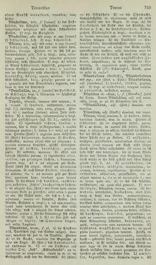 Bild der Seite - 745 - in Lateinisch-Deutsches und Deutsch-Lateinisches Schul-Wörterbuch - Lateinisch-Deutscher Theil