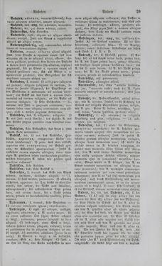 Bild der Seite - 29 - in Lateinisch-Deutsches und Deutsch-Lateinisches Schul-Wörterbuch - Deutsch-Lateinischer Theil