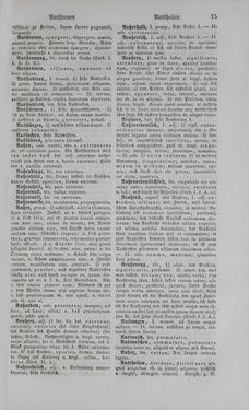 Bild der Seite - 75 - in Lateinisch-Deutsches und Deutsch-Lateinisches Schul-Wörterbuch - Deutsch-Lateinischer Theil
