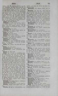 Bild der Seite - 361 - in Lateinisch-Deutsches und Deutsch-Lateinisches Schul-Wörterbuch - Deutsch-Lateinischer Theil