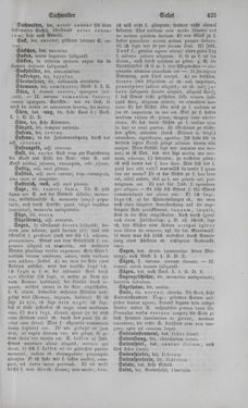 Bild der Seite - 425 - in Lateinisch-Deutsches und Deutsch-Lateinisches Schul-Wörterbuch - Deutsch-Lateinischer Theil
