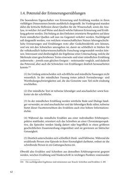 Bild der Seite - 42 - in Erzählen vom Leben im 20. Jahrhundert - Erinnerungspraxis und Erzähltraditionen in lebensgeschichtlichen Interviews am Beispiel der Region Montafon/Vorarlberg