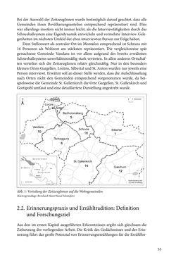 Image of the Page - 55 - in Erzählen vom Leben im 20. Jahrhundert - Erinnerungspraxis und Erzähltraditionen in lebensgeschichtlichen Interviews am Beispiel der Region Montafon/Vorarlberg