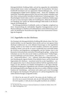 Image of the Page - 74 - in Erzählen vom Leben im 20. Jahrhundert - Erinnerungspraxis und Erzähltraditionen in lebensgeschichtlichen Interviews am Beispiel der Region Montafon/Vorarlberg