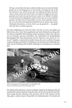 Image of the Page - 91 - in Erzählen vom Leben im 20. Jahrhundert - Erinnerungspraxis und Erzähltraditionen in lebensgeschichtlichen Interviews am Beispiel der Region Montafon/Vorarlberg