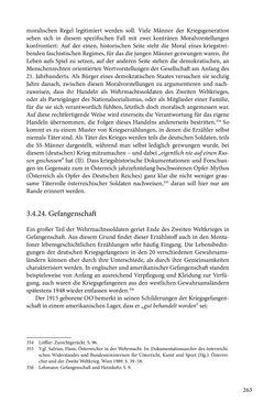 Image of the Page - 263 - in Erzählen vom Leben im 20. Jahrhundert - Erinnerungspraxis und Erzähltraditionen in lebensgeschichtlichen Interviews am Beispiel der Region Montafon/Vorarlberg