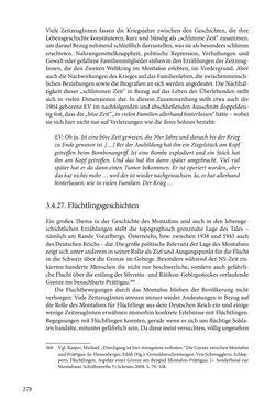 Image of the Page - 278 - in Erzählen vom Leben im 20. Jahrhundert - Erinnerungspraxis und Erzähltraditionen in lebensgeschichtlichen Interviews am Beispiel der Region Montafon/Vorarlberg