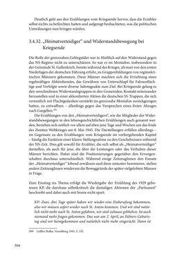 Image of the Page - 304 - in Erzählen vom Leben im 20. Jahrhundert - Erinnerungspraxis und Erzähltraditionen in lebensgeschichtlichen Interviews am Beispiel der Region Montafon/Vorarlberg