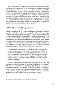 Image of the Page - 337 - in Erzählen vom Leben im 20. Jahrhundert - Erinnerungspraxis und Erzähltraditionen in lebensgeschichtlichen Interviews am Beispiel der Region Montafon/Vorarlberg