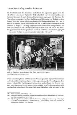 Image of the Page - 353 - in Erzählen vom Leben im 20. Jahrhundert - Erinnerungspraxis und Erzähltraditionen in lebensgeschichtlichen Interviews am Beispiel der Region Montafon/Vorarlberg